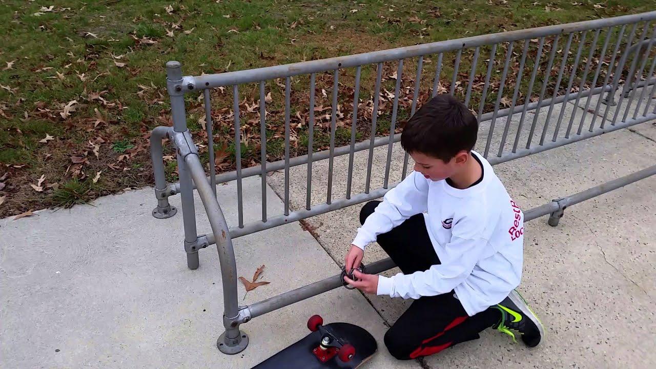 how to lock a skateboard youtube