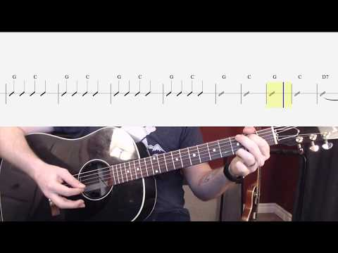 I'm A Believer Guitar Play Along (Shortened Version)