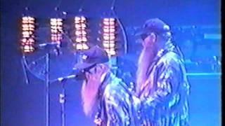 ZZ Top Antenna World Tour 1994 San Jose California PCH