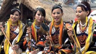All FOUR Tetseo Sisters sing O Rhosi live at Hornbill Fest!