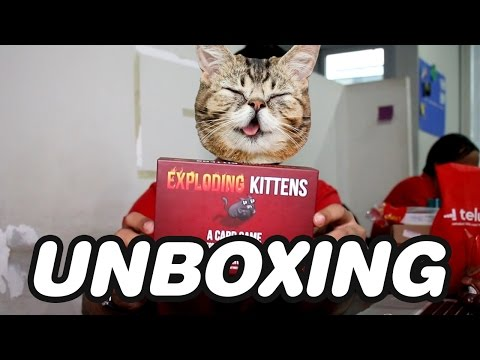 UNBOXING The Most Funded Game on Kickstarter! EXPLODING KITTENS [Bahasa Indonesia]
