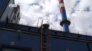Организация производства работ на высоте – ревизия пуско-регулирующей арматуры на мачте освещения.