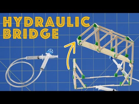 Hydraulic Bridge - Engineering Project for Kids: 6 Steps