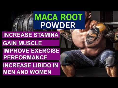 How To Increase​ Stamina And Gain Muscle With Maca Root Powder | Benefits And Side Effects - Hindi
