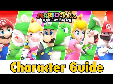 Mario + Rabbids Kingdom Battle Character Guide