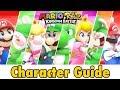 Mario + Rabbids Kingdom Battle Character Guide