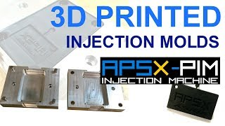 APSX-PIM Keychain Injection Molding with 3D Printed Molds by ASIGA Pro2