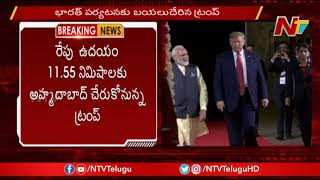 US President Trump Departs For India Tour