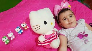 Super Celina And Hasouna play With Kittens | سوبر سيلينا وحسونة مع القطة للاطفال