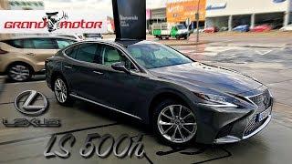 2018 Lexus LS500h | Prueba / Análisis / Test / Review / Revisión rapida Español GrandMotor