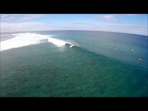 Stand up Paddleboard surfing and Me at Namotu Island Fiji