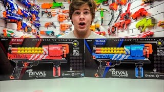 Nerf Rival Artemis XVII-3000 Blaster! (Unboxing and Review)