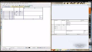 Компас 3D уроки - создание углового штампа чертежа (часть 2/2)