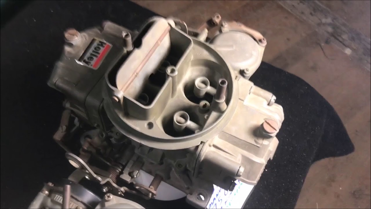 HOLLEY carburetor part 3 what a real 3310 looks like disassembly and INFO