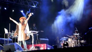 Erykah Badu - 20 Feet Tall Live Exit Festival 2012 - Close Up