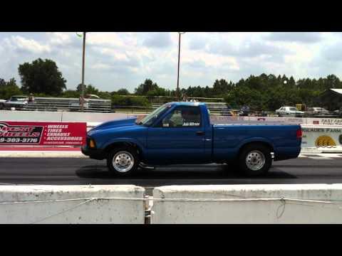 Repeat S10 Project Drag Truck at Fontana CA  Auto club