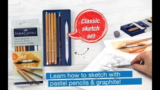 Learn How To Draw Faber Castell S Classic Sketch Set For Beginners Faber Castell Usa