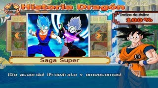 Vegetto SSJ Blue vs Zamasu Fusion | DRAGON BALL Z BUDOKAI TENKAICHI 4 VERSION LATINO MODO HISTORIA
