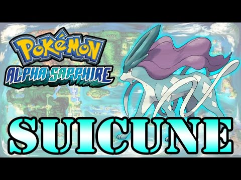 Caçando Lendários [Pokémon Alpha Sapphire] - Suicune