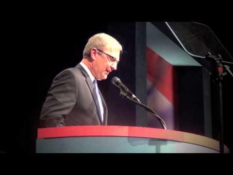 Kevin Cramer Addresses NDGOP Convention