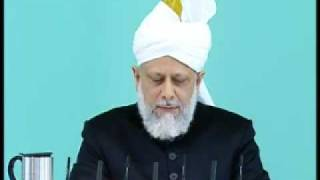 Friday Sermon: 15th May 2009 - Part 3 (Urdu)