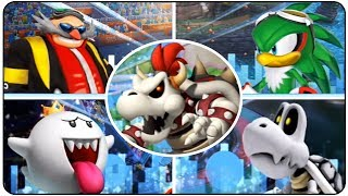 Mario & Sonic at the London 2012 Olympic Games - All Bosses