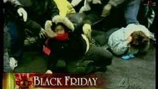 Black friday stampede