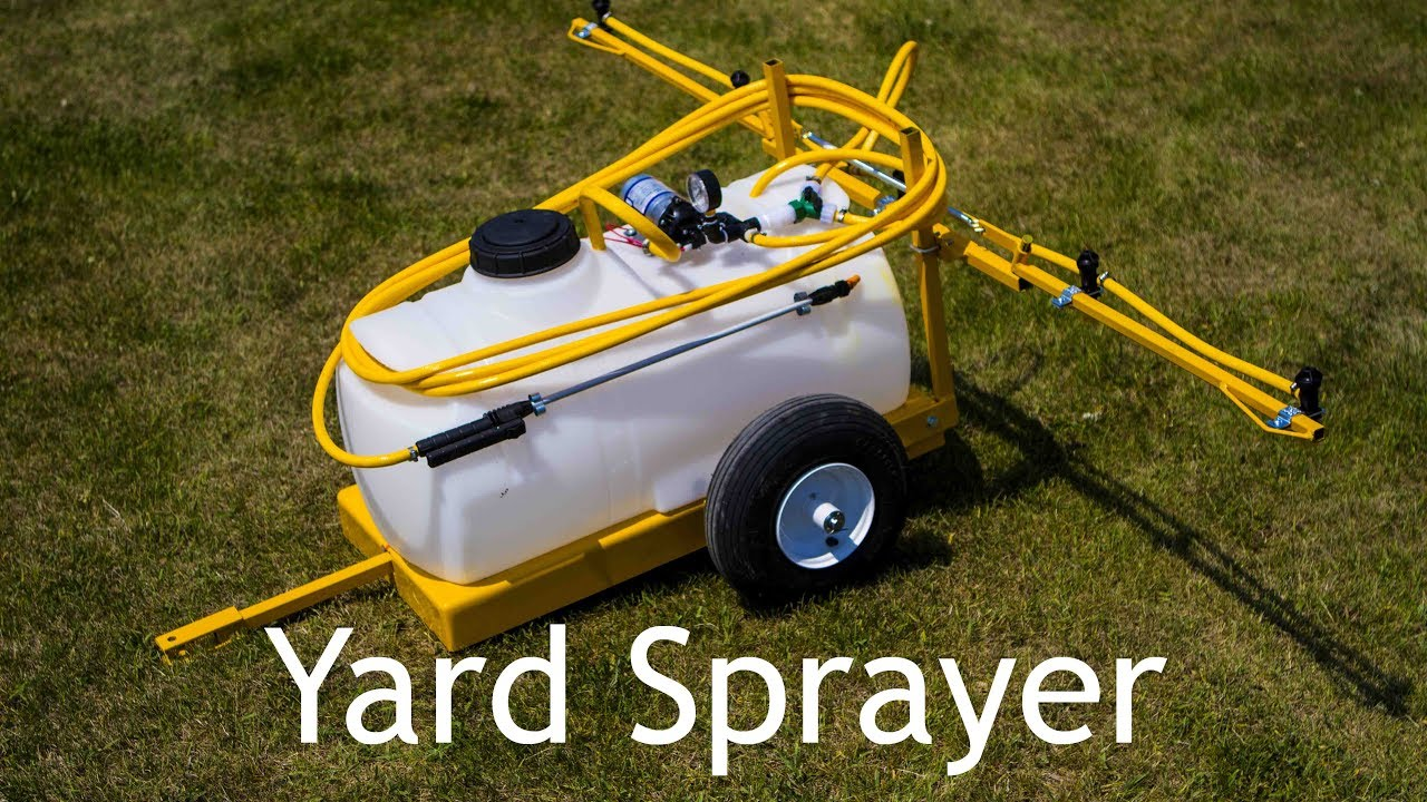 Lawn and garden sprayer 25 gallon 5 tips breakaway for Garden tools for 4 wheeler