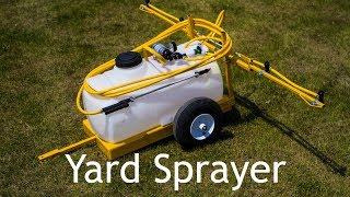 Lawn and Garden Sprayer - 25 Gallon - 5 Tips - Breakaway Booms - 15' Hose and Gun