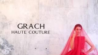 Красное платье свадебное платье GRACH HAUTE COUTURE 2017 ангел А