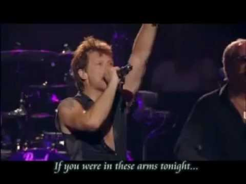 Bon Jovi - In These Arms(with lyrics)