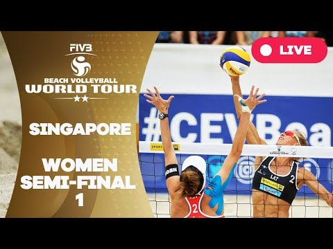 Singapore 2-Star - 2018 FIVB Beach Volleyball World Tour - Women Semi Final 1
