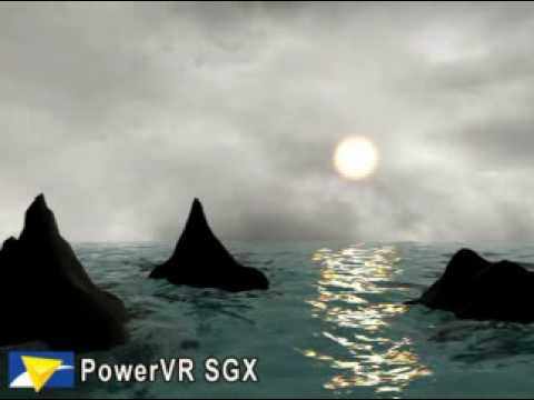 Water graphics on PowerVr SGX