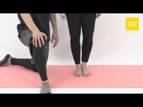 10後脛骨筋のストレッチ指導法