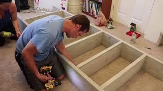 How to make a DIY BOOKSHELF|| …