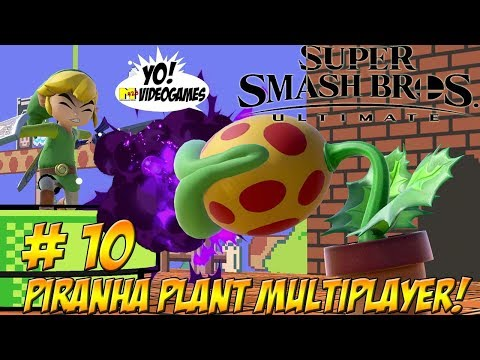 Super Smash Bros. Ultimate! Piranha Plant Multiplayer! Part 10 - YoVideogames thumbnail