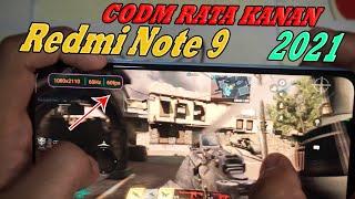 Call Of Duty Mobile Redmi Note 9 Xiaomi Rata Kanan High 60 FPS Tahun 2021