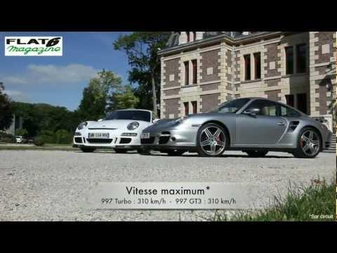 Flat6 Magazine N°260 - Comparatif Porsche : 997 Turbo contre 997 GT3