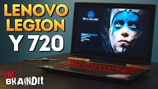 ОЛЕГ БРЕЙН СМОТРИТ ИГРОВОЙ НОУТБУК Lenovo Legion Y720