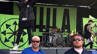 Attila Vans Warped Tour 2017 Bonner Springs, Kansas