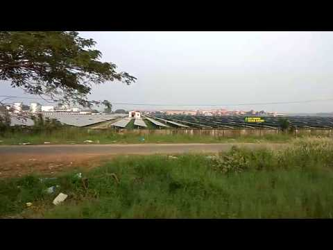 Cochin International Airport - World's first airport to be fully powered by solar energy