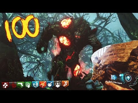 "Black Ops 3 Zombies ""Zetsubou No Shima "" Round 100 Insanely Difficult Challenge Live!"