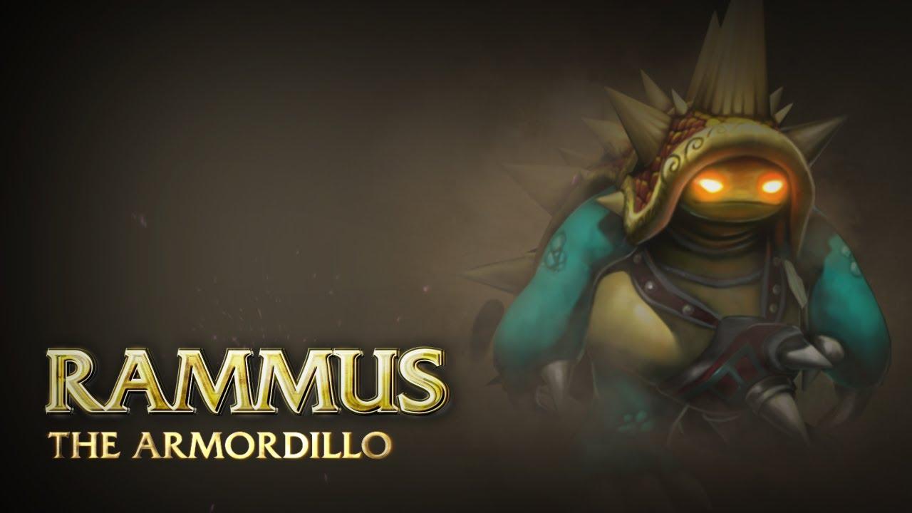 Rammus: Champion Spotlight | Gameplay - League of Legends - YouTube