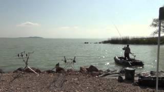 Big Carp fishing on the Lake Balaton with Zsolt Bundik