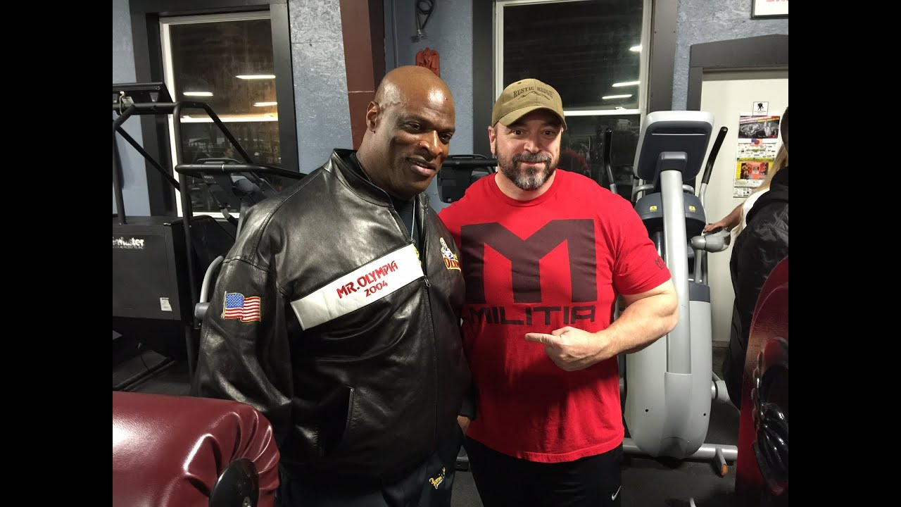 shoulder training with ronnie coleman and nick wright
