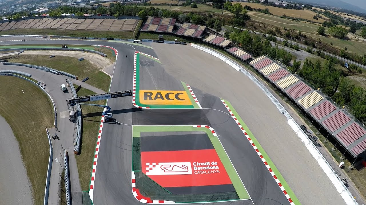 Motogp Riders Talk About The New Circuit Layout In Montmelo Youtube