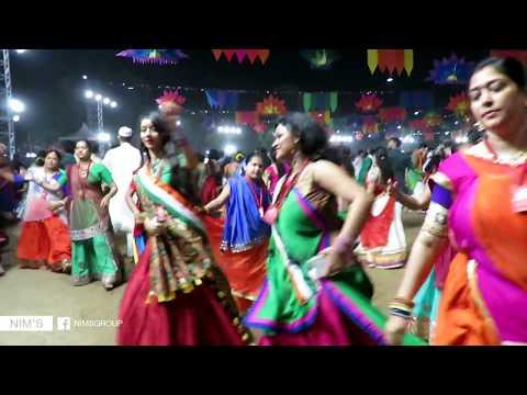 Aavi Nav Navratri Re | Lili Lemdi Re | United Way Of Baroda | Garba Mahotsav 2017 | Nim's Group