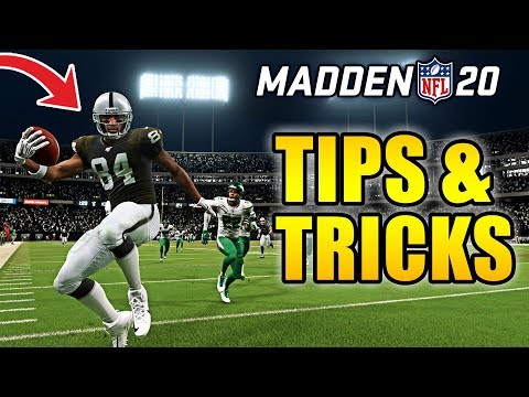 The 20 Tips & Tricks You NEED To Know Before You Play MADDEN!