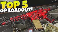 TOP 5 MOST OVERPOWERED GUNS IN MODERN WARFARE. (BEST CLASS) COD WARZONE Gameplay