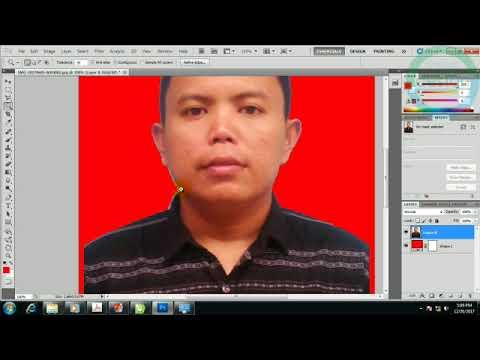 Cara Mengedit Pas Foto 4x6 Background Merah Untuk Pemula ...